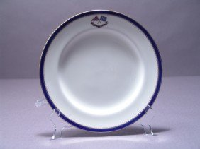Flagship Corsair Luncheon Plate.