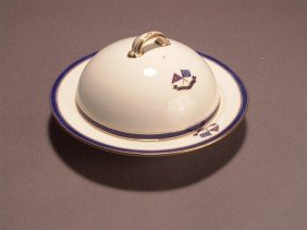 Flagship Corsair Consomme Bowl With Lid.