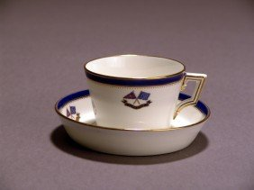 Flagship Corsair Tea Cup And Saucer