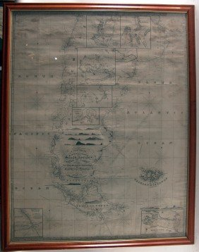 1822 Chart Of South America