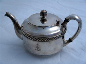 U.S. Navy Silver Plated Teapot