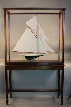 "Model Of The America's Cup ""Columbia"""