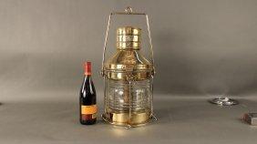 Solid Brass Ship�s �anchor� Lantern