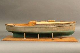 Stevens Dockyard Model Of European Motor Yacht