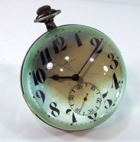 Paperweight -Gorham Co. Desk Clock