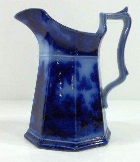 Flow Blue Staffordshire Jug