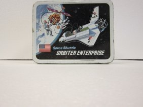 Space Shuttle Lunch Box