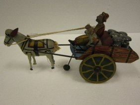 Marx Hee-Haw Donkey Tin Wind-UP