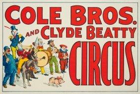 Cole Bros. & Clyde Beatty Circus.