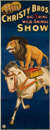Christy Bros. / Wild Animal Show. Ca. 1925