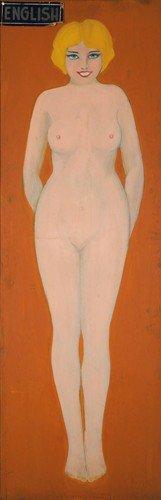 Coney Island Nude Of The World: English. Ca. 1940