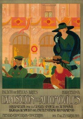 Exposici�n De Autom�viles. 1919