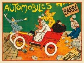 Automobiles Barr�. Ca. 1902