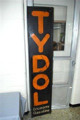Tydol Economy Gasoline SST Vertical Wood Framed Sig