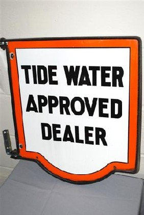 Tidewater Approved Dealer DSP Diecut Sign,  21x18 I