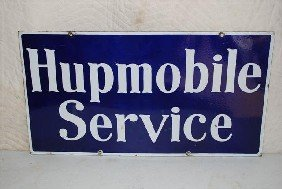 Hupmobile Service DSP Sign,  16x30 Inches,