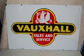 Vauxhall Sales And Service With Logo,  DSP Sign,  2