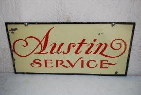 Austin Service  DSP Sign,  17x36 Inches,