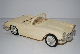 1959 Chevrolet Corvette Convertible Promo Car, Wh