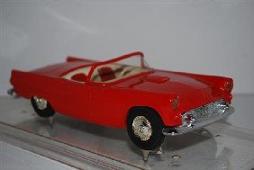 1955 Ford Thunderbird Convertible, Red, Promo Car