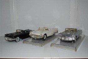 3-1959 Ford Thunderbird Convertibles, Promo Cars,