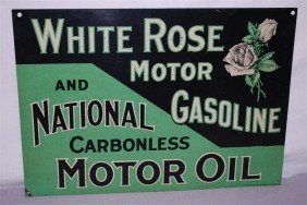White Rose Motor Gasoline And National Carbonless M