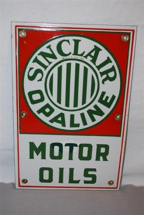 Sinclair Opaline Motor Oils  SSP Sign, 17x11 Inches