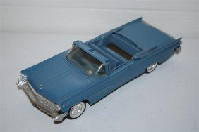 1959 Lincoln Mark IV Convertible Promo Car, Plastic