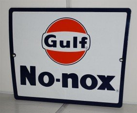 Gulf No-Nox With Logo, SSP Sign, 8.5x11.5 Inches,