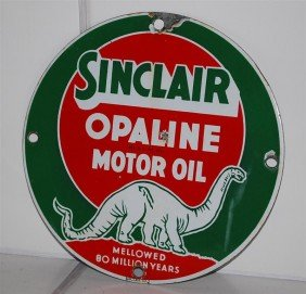 Sinclair Opaline Motor Oil Mellowed 80 Million Year