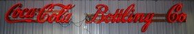 Coca-Cola Bottling Co.  Neon Sign, 24x206x9 Inches,