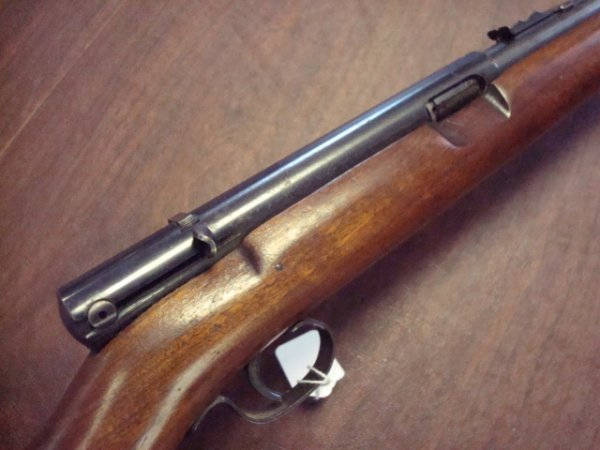 88B: WINCHESTER Model 74 22 CAL Long Rifle: : Lot 88B