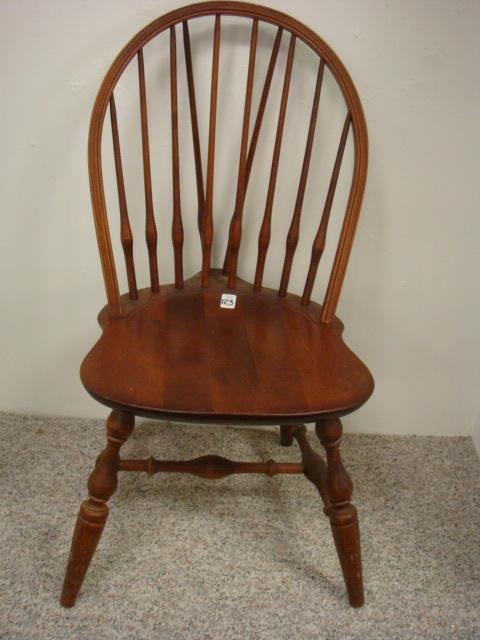 323 Nichols Amp Stone Brace Back Windsor Chair Lot 323