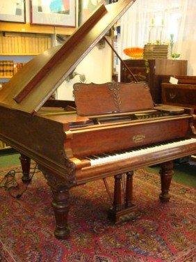 MATHUSHEK Baby Grand Piano With QRS Pianomation: