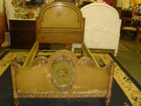 Pair Of SLIGH FURNITURE French Twin Beds: