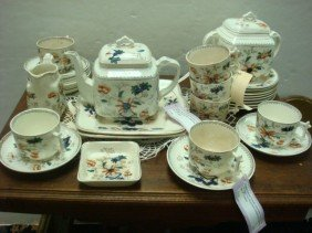 India Tree English 19thC Tea Service: