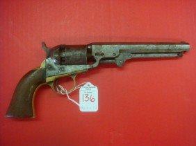 COLT Model 1849 Pocket Percussion Revolver: