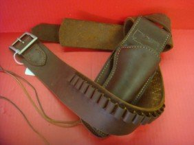Leather Holster For Colt SAA Revolver: