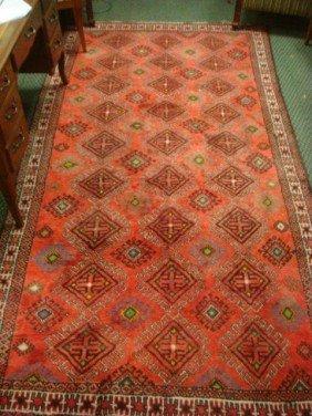 Handloomed Iranian Wool Balouch Rug: 3170