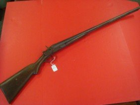 US ARMS, Double Barreled Percussion 12 GA. Shotgun