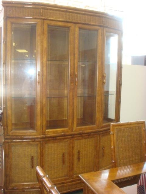 american of martinsville dining room set | AMERICAN OF MARTINSVILLE 8 Piece Dining Room Set: : Lot 732