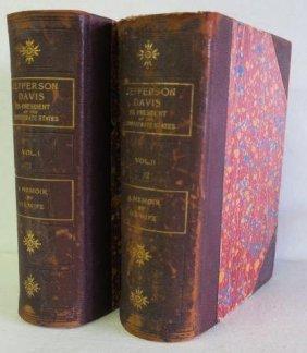 "Rare 1st Edit. Varina Jefferson Davis,""a Memoir"";"