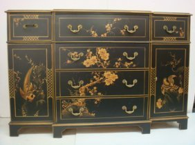 Union National Fine Furniture Butlers Desk/chest: