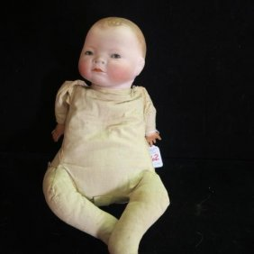 Grace Putnam Bisque Head Bye-lo Baby Doll: