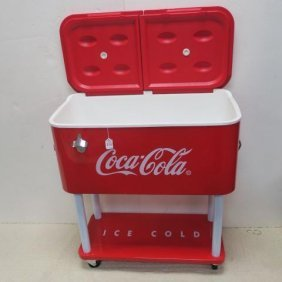 """Reproduction """"drink Coca-cola"""" Rolling Cooler:"""