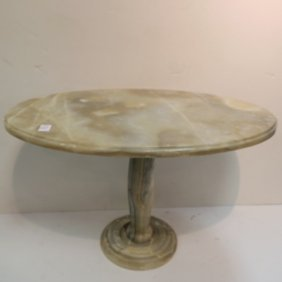 Onyx Oval Occasional Table: