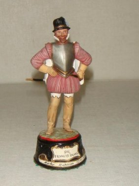 "Sir Frances Drake 3.5"" Hand Painted Model Soldier:"