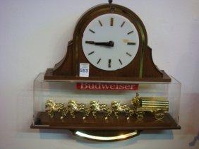 "Budweiser ""clydesdales Champion"" Clock:"