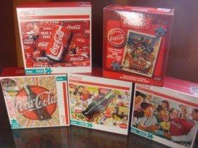 Coca-cola Nostalgic Five Jigsaw Puzzles: