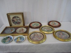 F3-15  LOT OF 10 COLLECTOR PLATES
